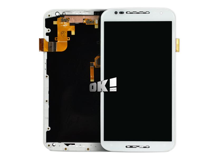 10pcs/lots DHL/EMS New For Motorola MOTO X+1 X2 XT1092 XT1095 XT1096 XT1097 LCD Display Touch Screen Digitizer Assembly+Frame
