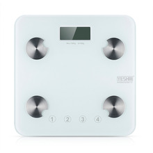Personal Body Fat Electronic Scales Hydration Muscle Weight Scales Digital Bathroom Scales for Home-use 300lb with LCD Display(China (Mainland))