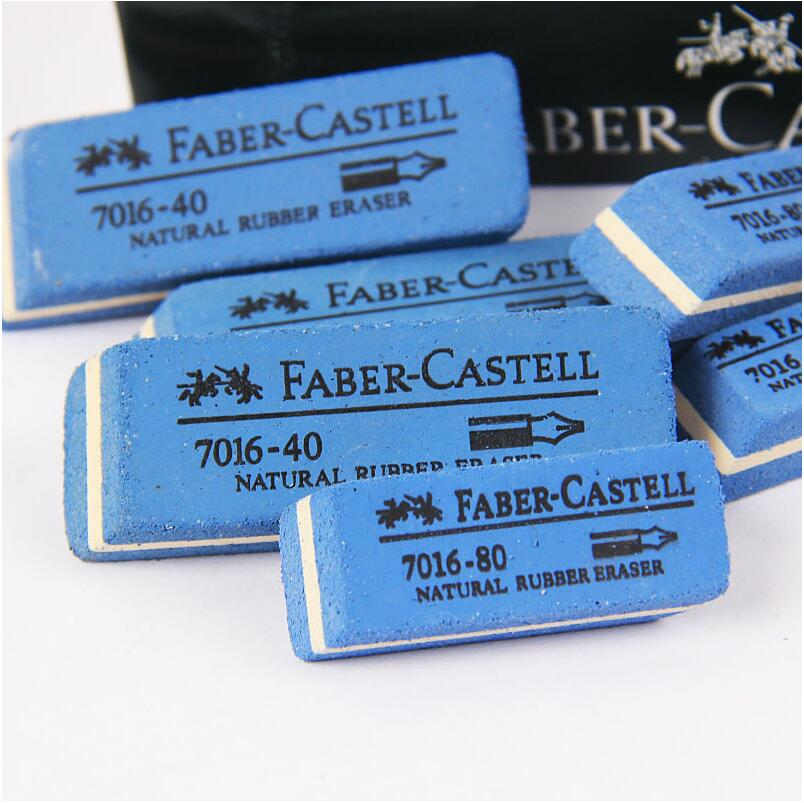 4Pcs/Lot Faber-Castell Natural Rubber Eraser Ink Eraser Sand Rubber Fountain Pen rubber NO.7016-80 ;7016-40 escola de borracha(China (Mainland))