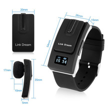 Sports Watch Separate Design Hands-Free Bluetooth V3.0 Earphone Reminder/Voice Call for IOS /Android Smartphone Support Call