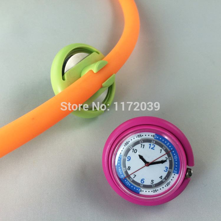 how to attach stethoscope watch