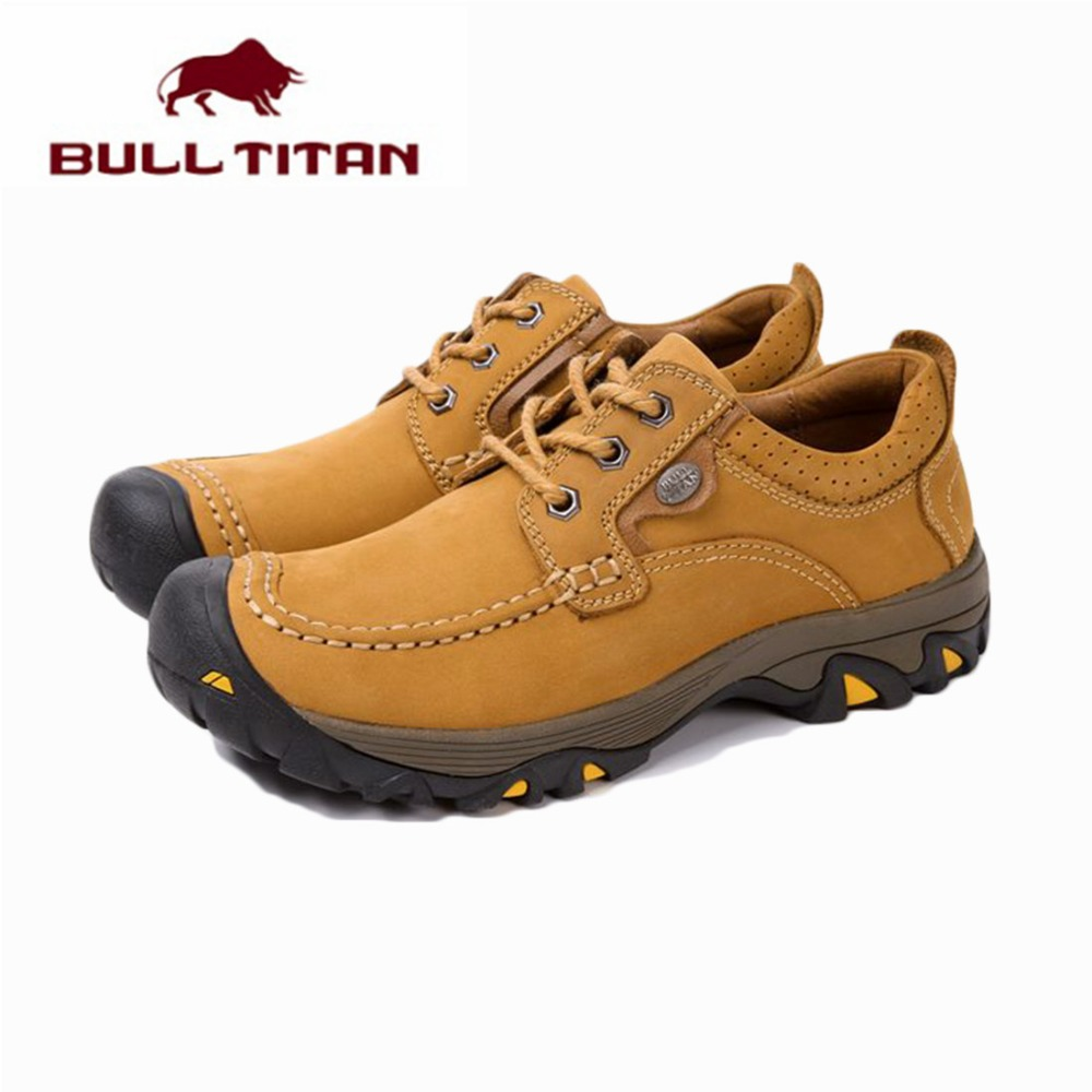 Autumn Winter Men Outdoor Climbing shoes Suede Leather waterproof Anti-slip Men Outdoor Casual Shoes Footwear zapatos hombre<br><br>Aliexpress