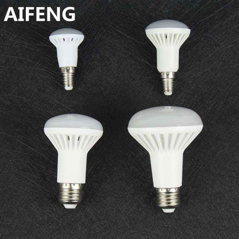 AIFENG dimmable e27 E14 12W 9w 7W 5W led r80 R63 R50 R39 spotlight bulb COOL WHITE warm 5730smd lamp 110v 220v 230v 240v(China (Mainland))