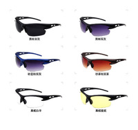 Retail high quality unisex explosion-proof sport sunglasses men glasses night vision driving glasses