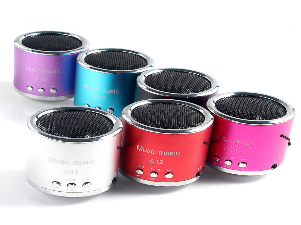 6 Colors For Choose Wireless Amplifier FM Radio USB Micro SD TF Portable Mini Speaker Computer Card MP3 Player(China (Mainland))