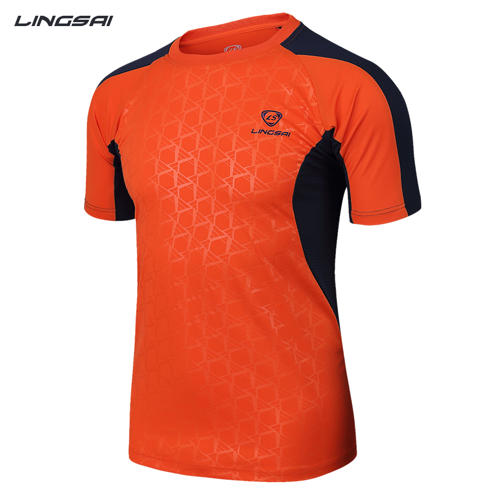 LUCKY SAILING Hot Sale 2016 Summer Quick Dry Slim Fit fitness Mens T-Shirts Running Sports crossfit T Shirt mma Men ClothingОдежда и ак�е��уары<br><br><br>Aliexpress
