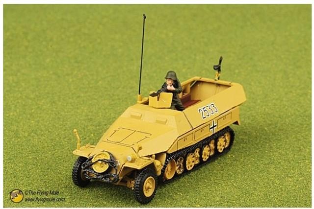 free shipping ! FOV 1:72 85079 SD. KFZ. 251/1 HANOMAG alloy Military Model