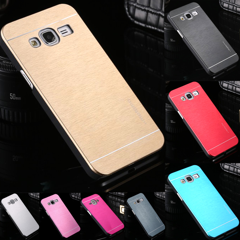Phone Case For Samsung Galaxy J3 J5 J7 2015 Version Aluminum Metal Cover + Plastic Hard Cases For Samsung J300 J500 J700(China (Mainland))