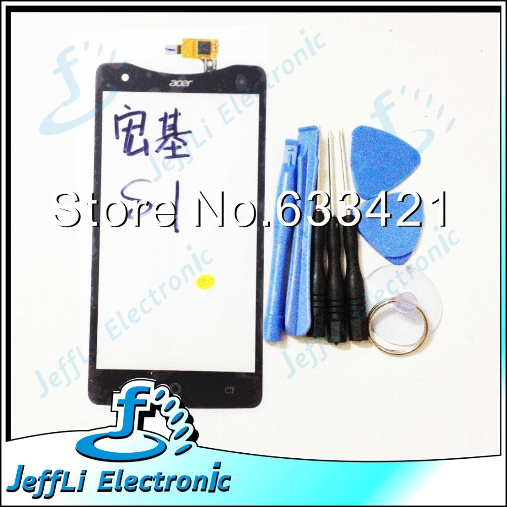 Original Touch Screen Touchscreen Digitizer For Acer Liquid S1 Touch Panel Glass Replacement 100% Working + Open Tools(China (Mainland))