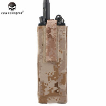 Buy Emerson PRC148/152 CP AVS Style Radio Pouch Molle Military Airsoft Combat Gear Interphone Bag Hunting Accessories EM8334 AOR1 ^ for $13.67 in AliExpress store