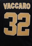 Mens 9 Drew Brees 10 Brandin Cooks 32 Kenny Vaccaro White Black Jersey Embroidery logos(China (Mainland))