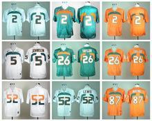 Miami Hurricanes Sean Taylor,Brad Kaaya,Ray Lewis,Hurricanes, Reggie Wayne,Ed Reed(China (Mainland))