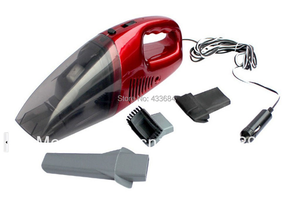12V new Car Use Vacuum Cleaner for wet & dry use,washable filter bag,use repeatedly,free shipping(China (Mainland))