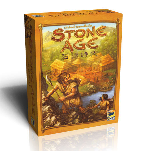 Super Classical Germany Board Game STONE AGE table games cards Toys gifts for kids family party games Chinese Version(China (Mainland))