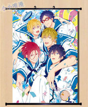 Free! Wall Scroll cosplay Animation Do Home Decor Poster Japan anime 60x90cm