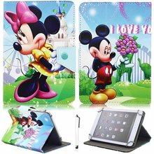 Радуга», «Мой маленький пони», «Единорог» Универсальный 7-ми дюймовый стойка для планшета чехол для huawei Mediapad T3 7 3g BG2-U01 Tablet крышка T3 3g 7,0(China)