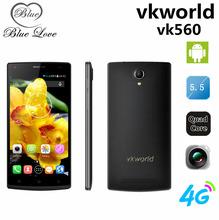 Origianl vkworld vk560 MTK6735 13.0MP Camera 4G LTE Cell Phone 5.5″ Android 5.1 OS Quad core 1.0GHZ 1GB RAM 8GB ROM Dual SIM