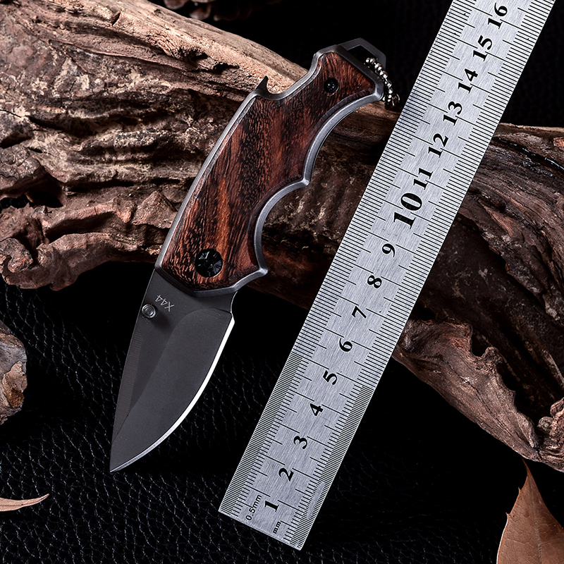 X44 New Design Cold Steel Survival Tactical Folding Knife D2 Cs Go Wood Handle Hunting Combat Knives Facas Taticas Navajas(China (Mainland))
