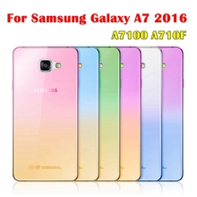 Galaxy A3 A5 A7 2016!Fashion Soft TPU Gradient Color Back Cover Case Samsung J3 J5 J7 2016 S7 Edge S6 S5 S4 S3 - Bestbuy Trading Co.,Ltd store
