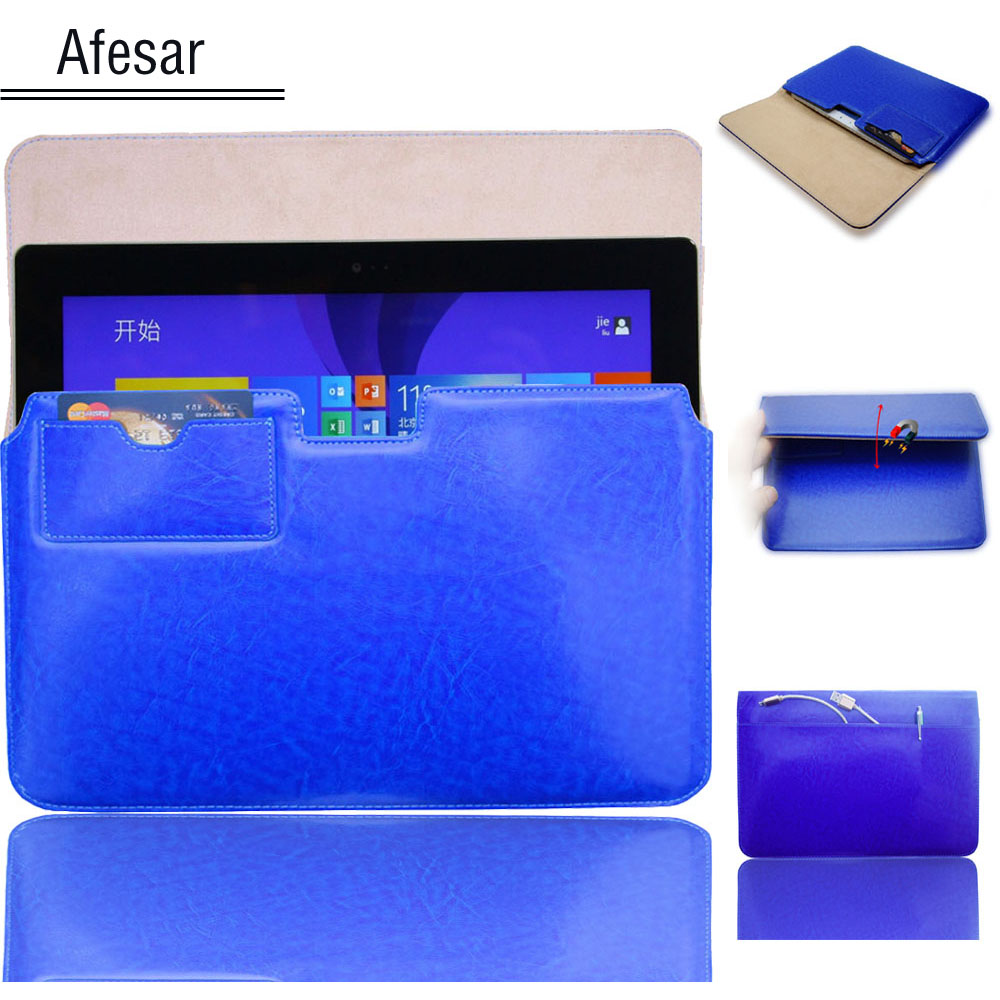 """9.7""""10.1"""" 10.8"""" Inch Tablet case pocket sleeve Travel storage Business Book bag for Surface 3 ThinkPad 10 Acer One 10 Card Cover(China (Mainland))"""