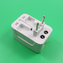 Buy One Universal International Plug Adapter 2 USB Port World Travel AC Power Charger Adaptor AU US UK EU converter Plug CO., LTD) for $5.15 in AliExpress store