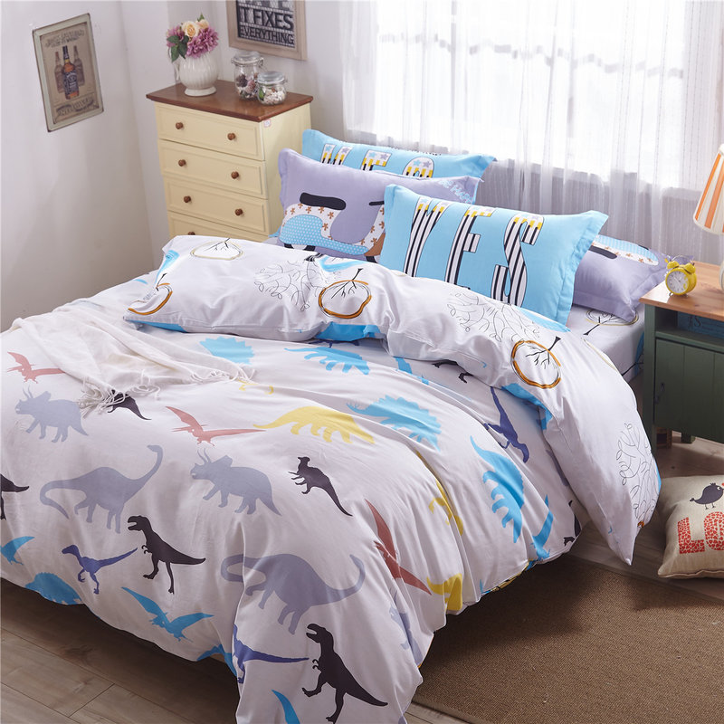 Fish print bedding promotion shop for promotional fish for Fish bedding twin