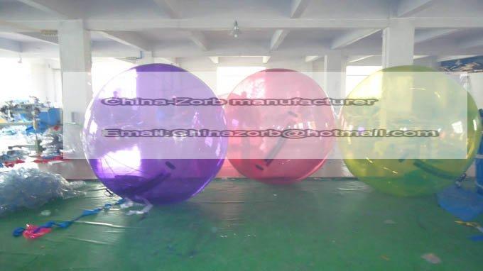 Free shipping!! TIZIP water walking ball ,Colorful ball,TPU water ball water sphere,soccer water ball(China (Mainland))