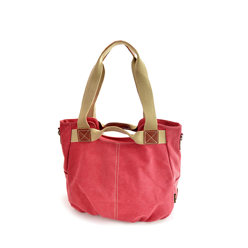 New Famous Brand blue red Bottom pleated casual canvas hobos large capacity casual tote shoulder bags handbags lady women Female(China (Mainland))