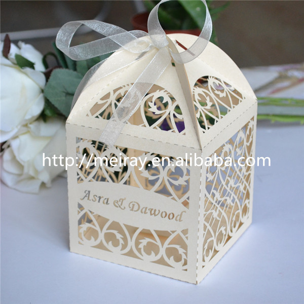 Buy royal blue wedding favors boxes laser for Where can i buy wedding decorations