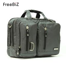 Freebiz laptop bag 14 15 17 19 large capacity portable double-shoulder male business bag briefcase Free Shipping