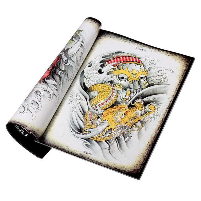 2016 новинка традиционный китайский практическая татуировки рукописи дизайн эскиз ...