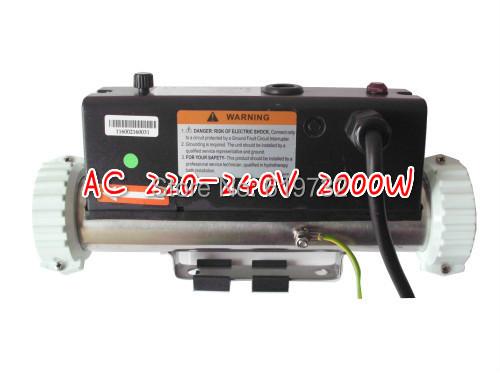 POOL spa heater LX H20-R1 2kw Heater hot tub spa, JNJ swim spas & pools 2000W heater(China (Mainland))