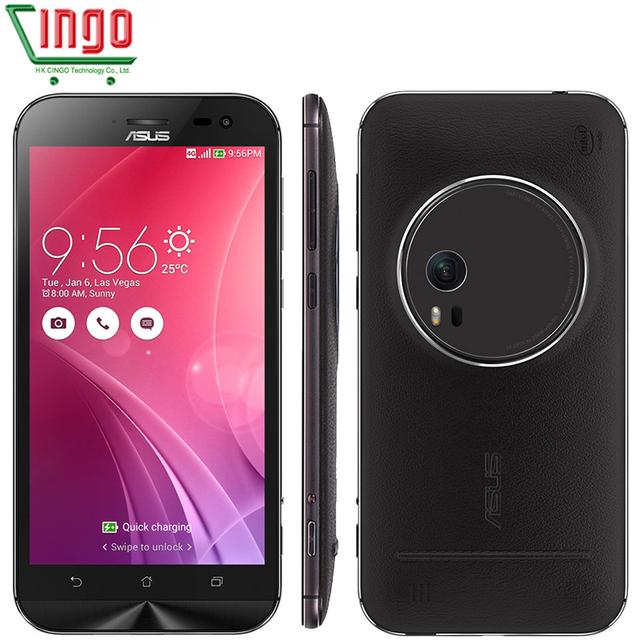 """Оригинальный ASUS Zenfone зум ZX551ML Android смартфон 5.5 """" FHD 4 ГБ 64 ГБ Z3580 2.3 ГГц четырехъядерных процессоров жк-3x оптический - зум камеры 4 г Lte"""