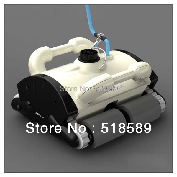 Auto robot swimming pool cleaner Robotic pool cleaner, swimming pool cleaner robot, swimming pool cleaning with wall climbing(China (Mainland))