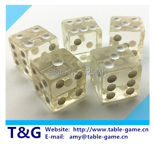 T&amp;G dice High Quality 16mm Clear Dice Six<br><br>Aliexpress