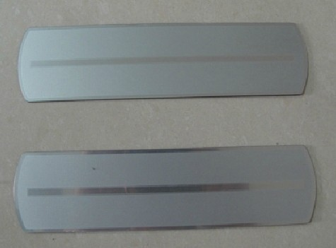 Free shipping 2009-2013 Renault Koleos High quality PVC internal Rear Door Scuff Plate/Door Sill dfg(China (Mainland))