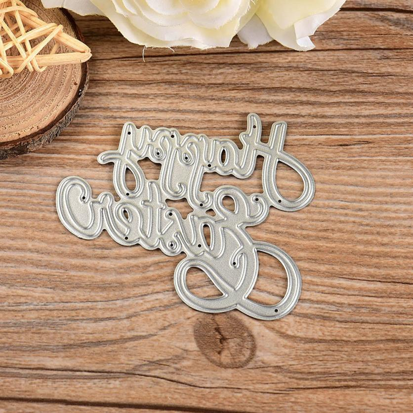 Metal Cutting Dies Stencil DIY Scrapbooking Embossing Album Paper Card Craft