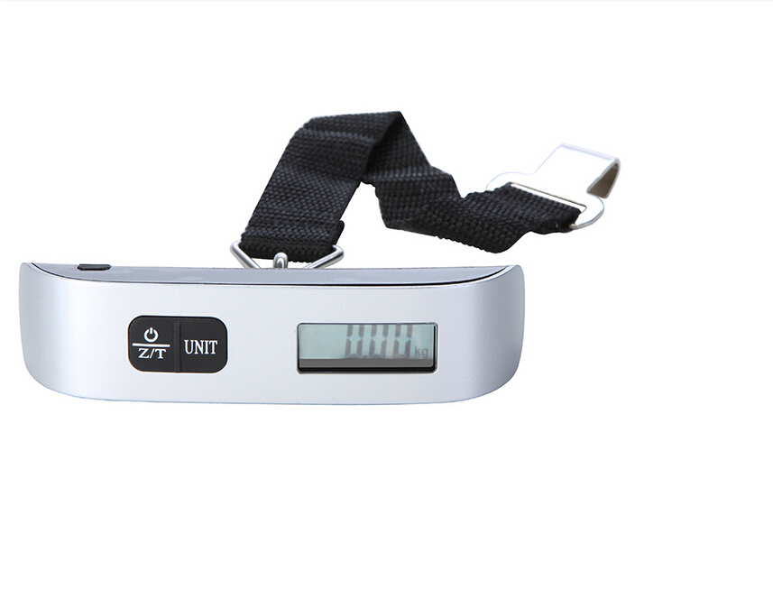 New Portable LCD Display Electronic Hanging Digital Luggage Weighting Scale 50kg 10g 50kg 110lb Weight Scales