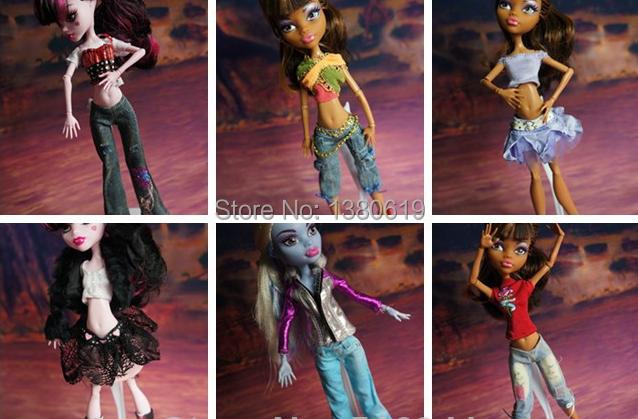 Free Shipping ! 10PCS Original monster high dolls fashion clothing accessories B31(China (Mainland))