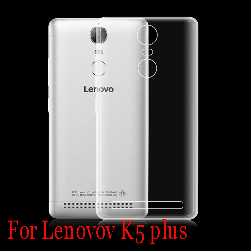 ultra-thin 0.5mm clear soft TPU Silicon Mobile Phone case Lenovo K5 Note,K52t38 5.5inch phone shell skin  -  ICoCo Smmer Co.,Ltd store
