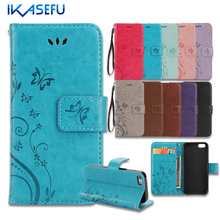 IKASEFU For iPhone 7 Case Stand Wallet Leather Case for iPhone 7 4.7 7Plus 6S 6 Plus SE 5S 5 4S 4 iPod Touch 5 6 Flip Cover Capa(China (Mainland))