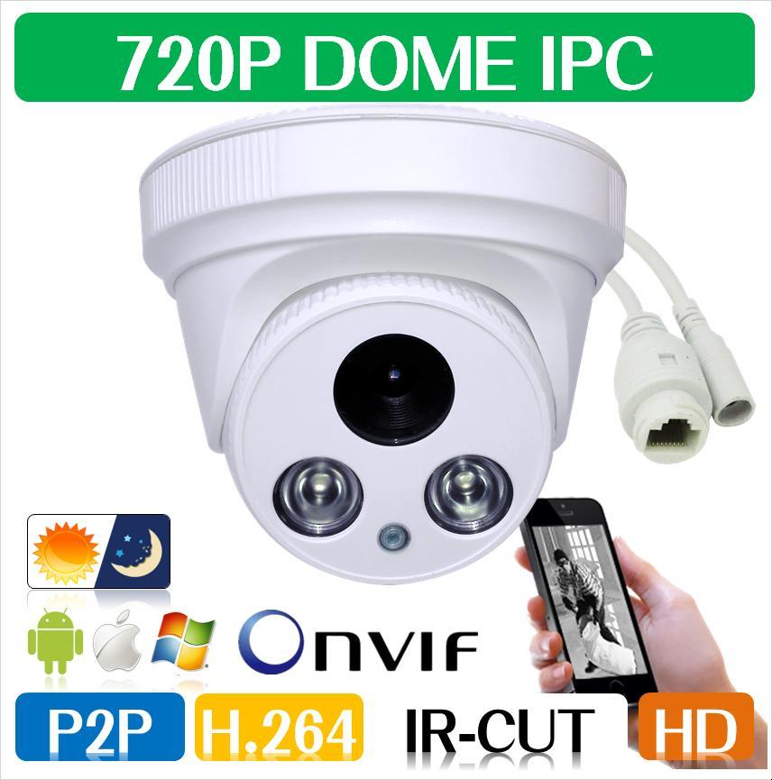 720P/960P/1080P 1.0MP/1.3MP/2.0MP Family Mini Dome Security IP Camera ONVIF 2.0 indoor IR CUT Night Vision P2P Plug and Play