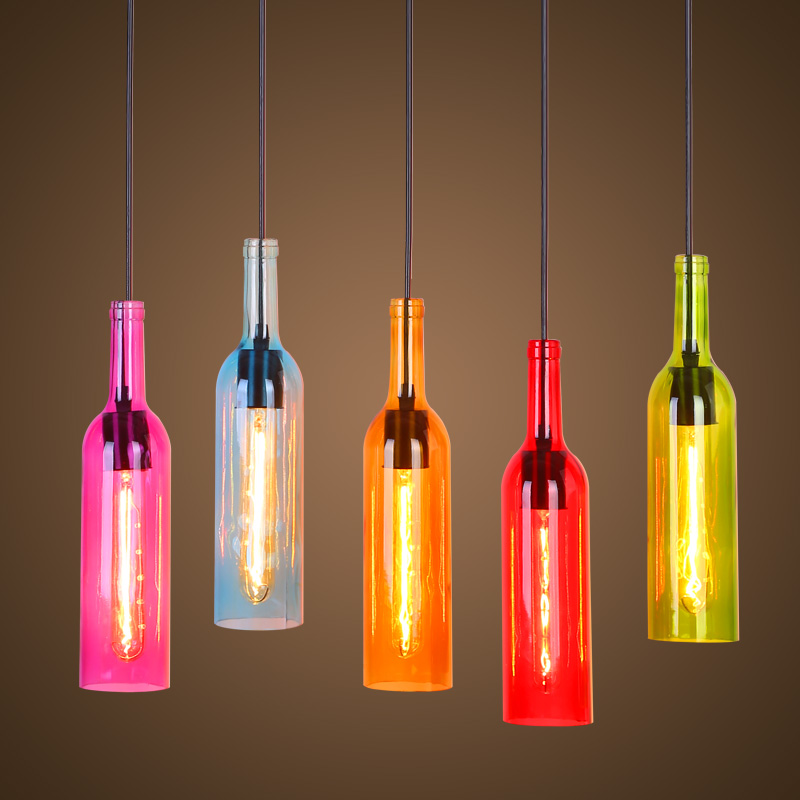 Popular colored glass wine bottles buy cheap colored glass for Where to buy colored wine bottles