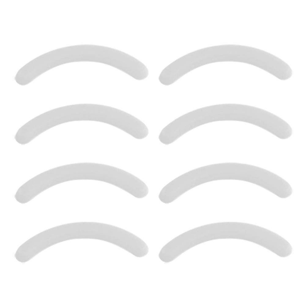 New 8Pcs White 7g Replacement Eyelash Curler Rubber Pad Cushion For Ladies&Girls(China (Mainland))