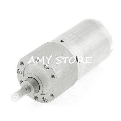 12V Voltage 20RPM Cylinder Shape DC Gearbox Geared Motor(China (Mainland))