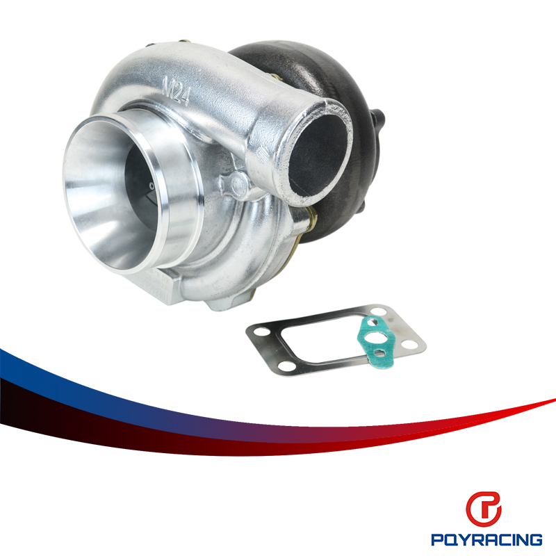 PQY STORE- GT3582 GT35 GT3582R T3 flange Water 4 bolt turbocharger turbo compressor A/R .70 Turbine A/R .1.06 PQY-TURBO32-106(China (Mainland))