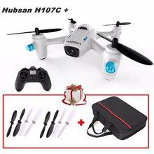 Free Shipping! Hubsan X4 Cam Plus H107C+ 2.4G 4CH 720P Camera RC Drone w/Traveling Bag+Blades