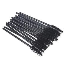 Hot sale 100 pcs One Off Disposable Eyelash Brush Mascara Applicator Wand makeup Brushes eyes care