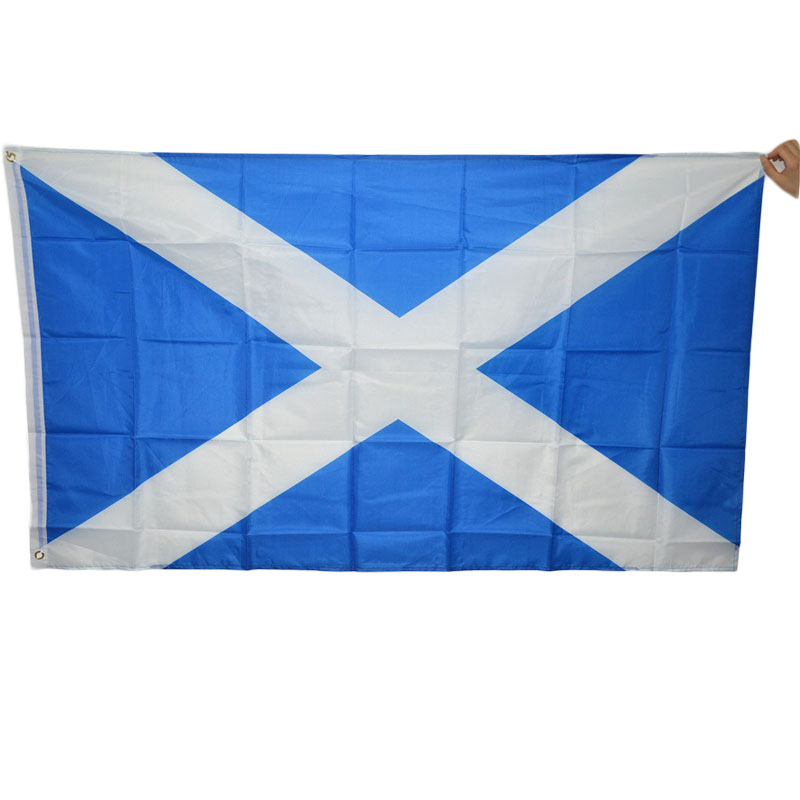 New 90*150cm Scotland Flags Polyester Standard National Flag Banner Outdoor Indoor Home Decor(China (Mainland))