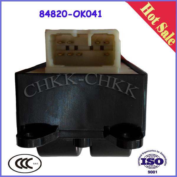 OEM 84820 0K041 Auto Power Window Switch For TOYOTA